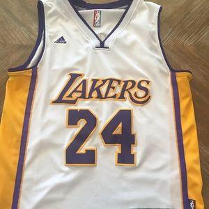 Adidas Lakers basketball jersey / Kobe